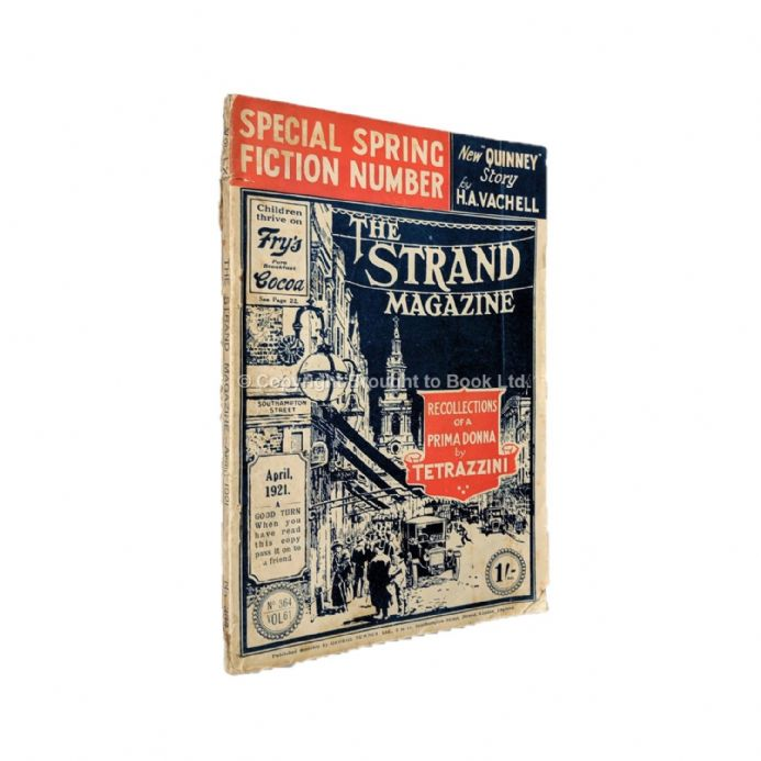 The Strand Magazine 364 April 1921 P.G. Wodehouse E. Phillips Oppenheim Sydney Horler